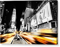 Time Lapse Square Acrylic Print by Andrew Paranavitana