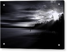 Time Left Behind Acrylic Print
