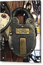 Time Lock Alcatraz Acrylic Print