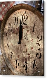 Time Moves Acrylic Print by Michael Hope
