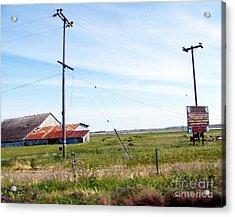 Acrylic Print featuring the photograph Time Passed By by Bobbee Rickard
