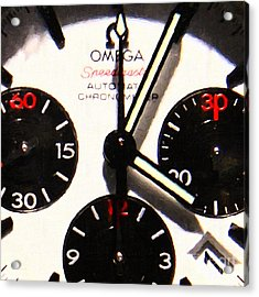 Time Piece - 5d20658 Acrylic Print by Wingsdomain Art and Photography