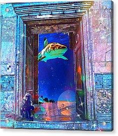 Time Portal Acrylic Print