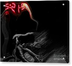......time...... Acrylic Print by Scott Allison