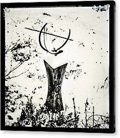 Time Seems To Stop When It Snows. #snow Acrylic Print