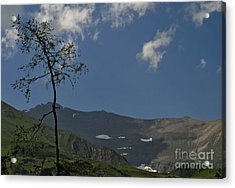 Time Stands Still High Alpine Region Austria Acrylic Print