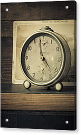 Time Stood Still Acrylic Print by Amy Weiss