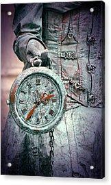 Time Time Time Acrylic Print by Jaroslaw Blaminsky