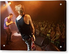 Time To Rock Out With A Solo... Acrylic Print by PeopleImages