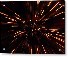 Time Travel Acrylic Print by Dan Sproul