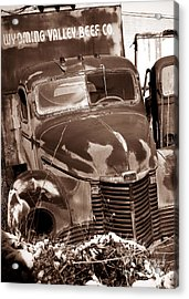 Time Traveler Pennsylvania Ave Wilkes Barre Pa Acrylic Print