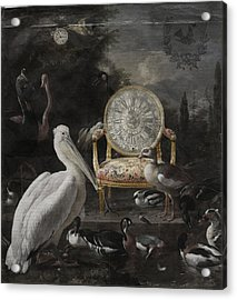 Time Waits For No One Acrylic Print by Terry Fleckney
