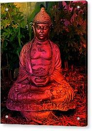Timeless Buddha Acrylic Print
