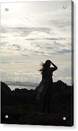 Acrylic Print featuring the photograph Timeless Celtic Sky by Ankya Klay