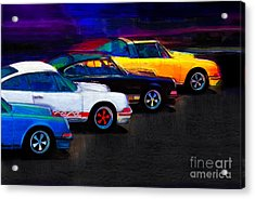 Timeless Classics Acrylic Print by Alan Greene