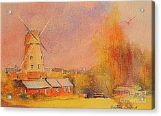 Acrylic Print featuring the painting Timeless Rye by Beatrice Cloake