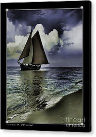 Timeless Sailingboat Acrylic Print by Pedro L Gili