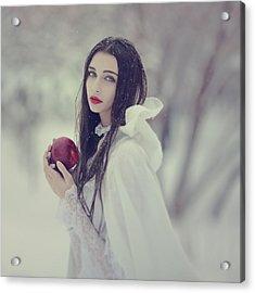 timeless story of Snow white 1 Acrylic Print by Anka Zhuravleva