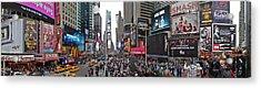 Times Square Acrylic Print by Aleksander Rotner