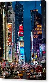 Times Square I Acrylic Print