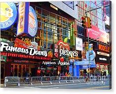 Times Square Razzle Dazzle Acrylic Print