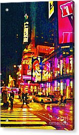 Times Square Two Acrylic Print