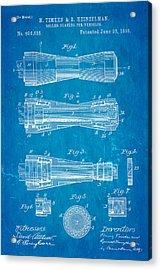 Timken Roller Bearing Patent Art 1898 Blueprint Acrylic Print