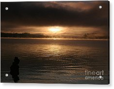 Timothy Lake Mysterious Sunrise 2 Acrylic Print