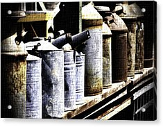 Tin Can Alley - Vintage Look Acrylic Print