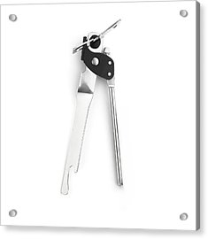 Tin Opener Acrylic Print by Science Photo Library