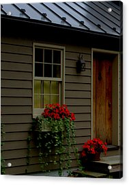 Acrylic Print featuring the photograph Tin Ribbon by Cathy Shiflett