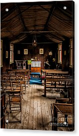 Tin Tabernacle Church Acrylic Print by Adrian Evans