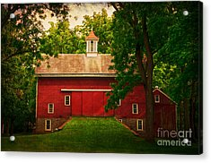 Tinicum Barn In Summer Acrylic Print