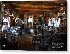 Tinsmith Shop - Old Sturbridge Village Acrylic Print by Scott Thorp