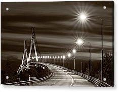 Tinted Bridge Acrylic Print