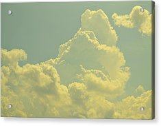 Tinted Cloud Acrylic Print by Kiros Berhane