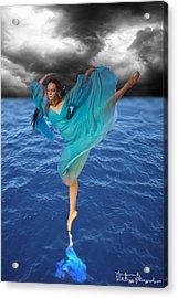 Tiny Dancer 2 Acrylic Print by Rick Buggy