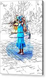 Tiny Dancer Acrylic Print by John Haldane