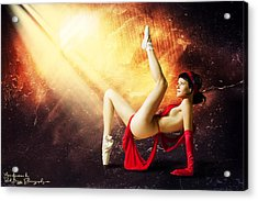 Tiny Dancer Acrylic Print by Rick Buggy