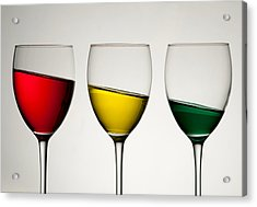 Tipple Acrylic Print by AJM Photography