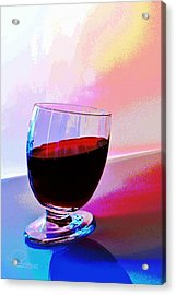 Acrylic Print featuring the photograph Tipsy by Ludwig Keck
