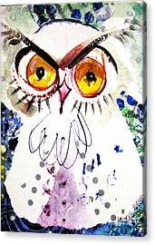 Tipsy Owl Acrylic Print