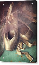 Tiptoes Acrylic Print by Amy Weiss