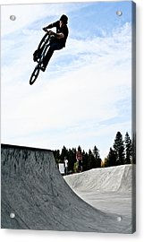 Acrylic Print featuring the photograph Tire Grab by Joel Loftus
