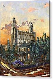 Tis Eventide Acrylic Print by Jeff Brimley