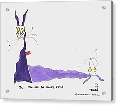 Tis Minister For Shady Deals Acrylic Print by Tis Art