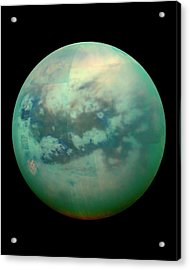 Titan From Space Acrylic Print