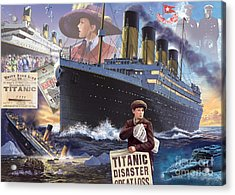 Titanic - Landscape Acrylic Print by MGL Meiklejohn Graphics Licensing