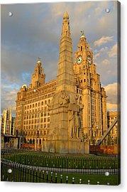 Titanic Memorial Liverpool Uk Acrylic Print