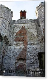 Titchfield Abbey From Within Acrylic Print by Terri Waters